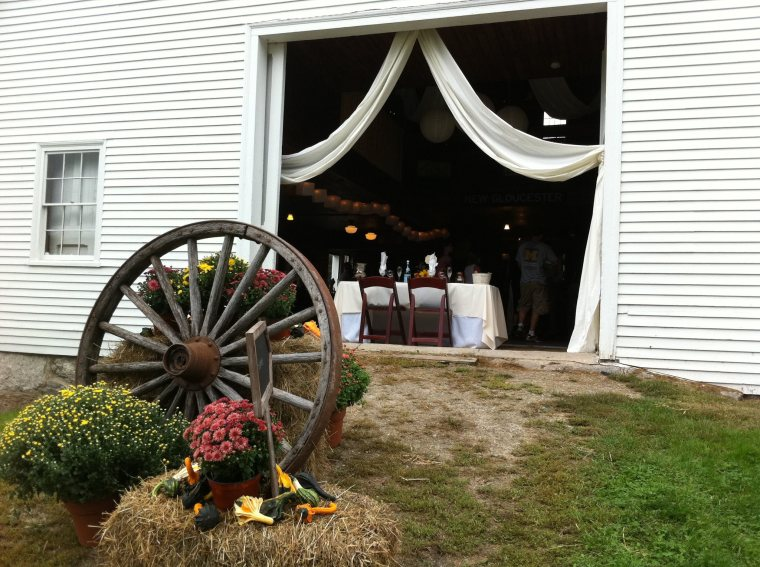Beautiful Maine Barn Weddings