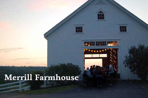 Beautiful maine barn weddings amsterdam and beyond for Wedding venues in maine
