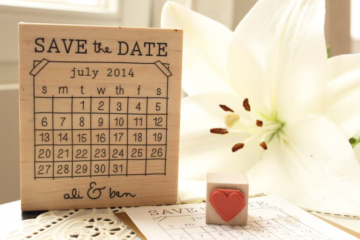 Save the date stamps in Sydney