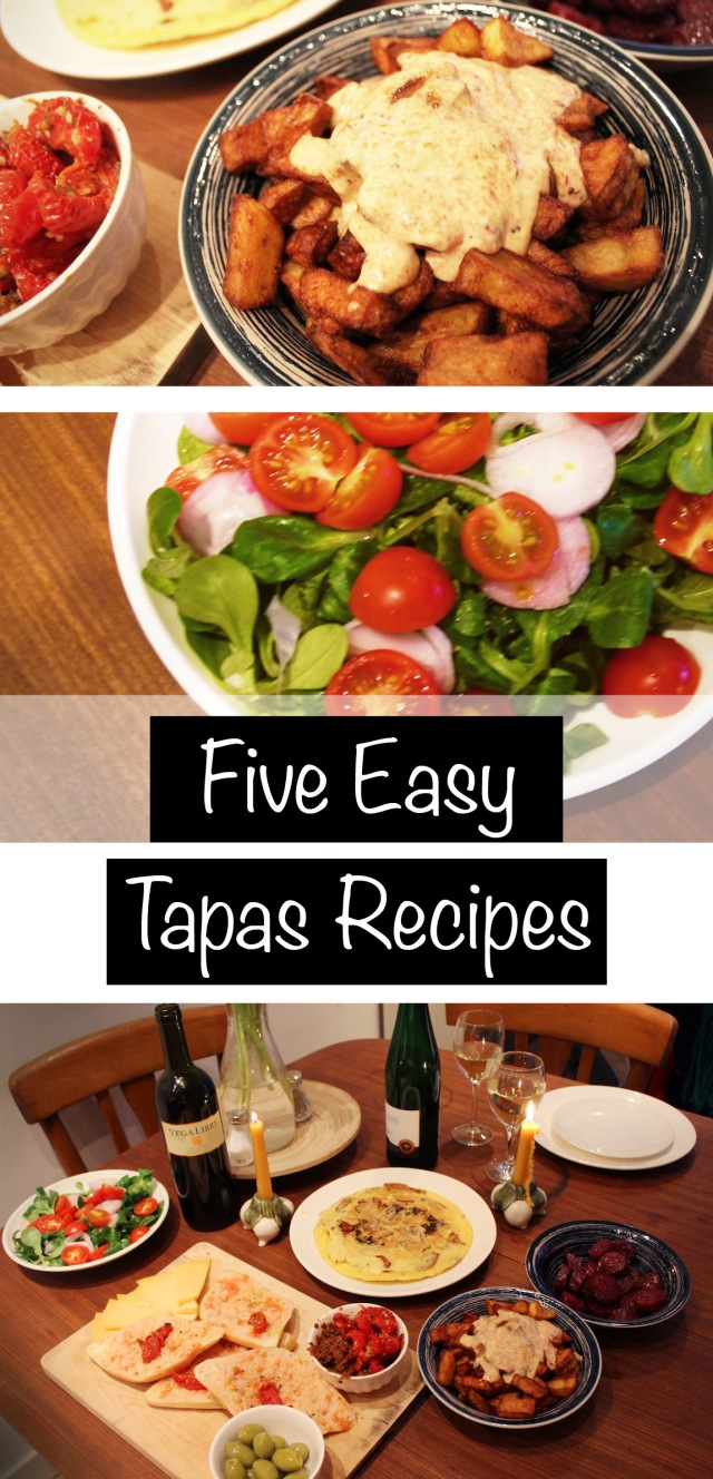 FIVE EASY TAPAS RECIPES