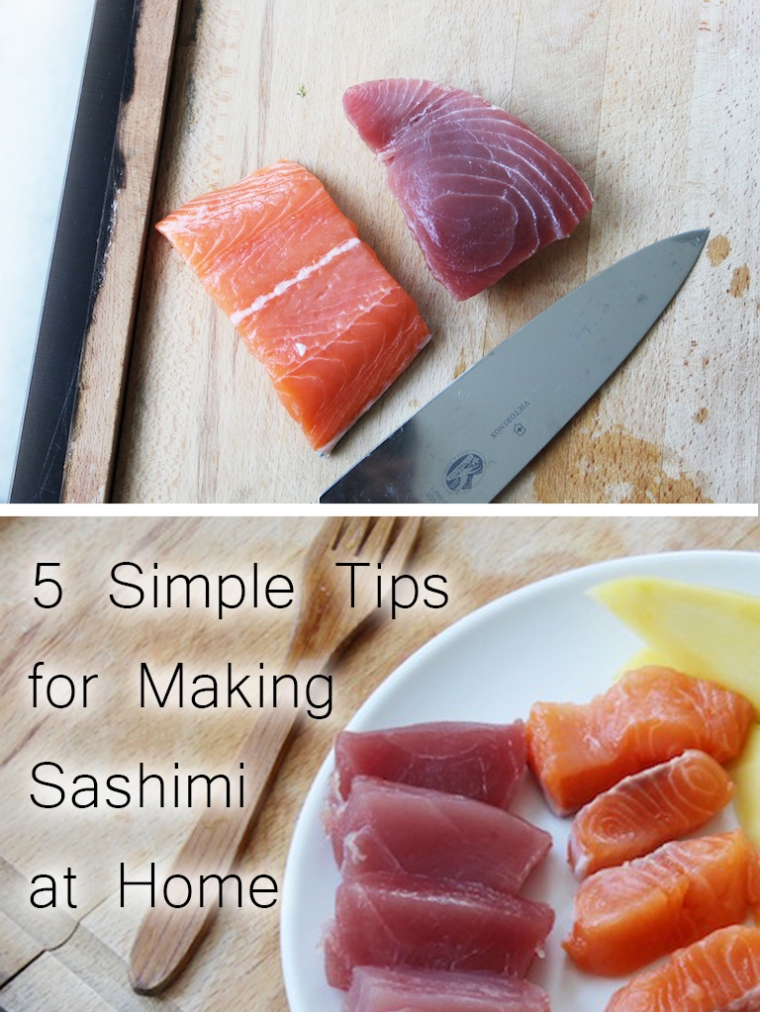 5 Simple Sashimi Tips