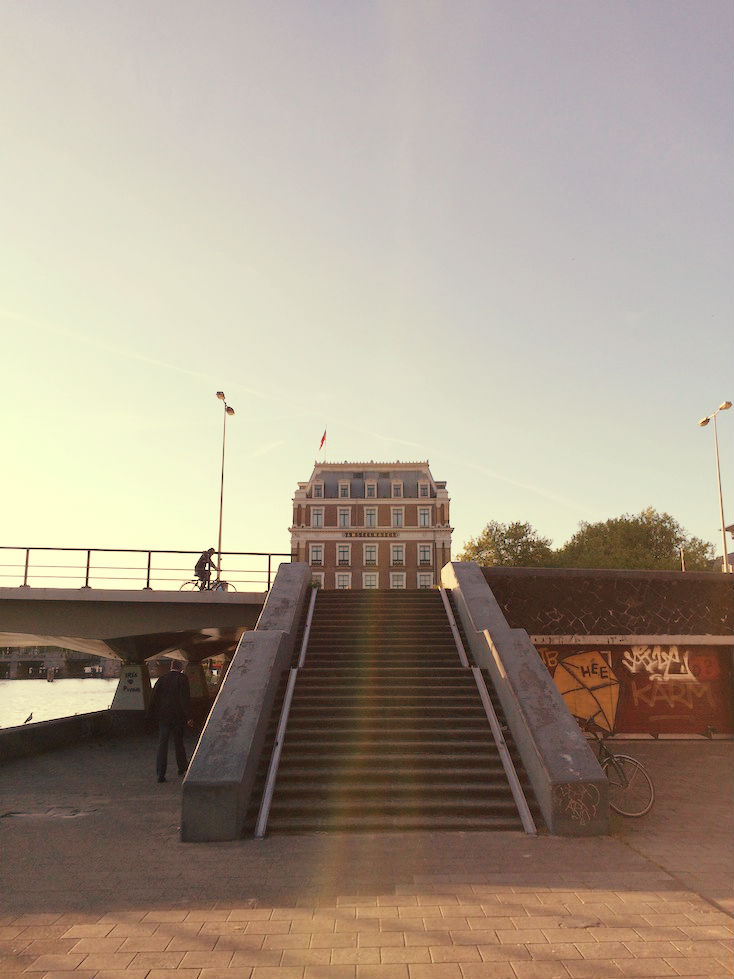 Amstel Bridge Amsterdam