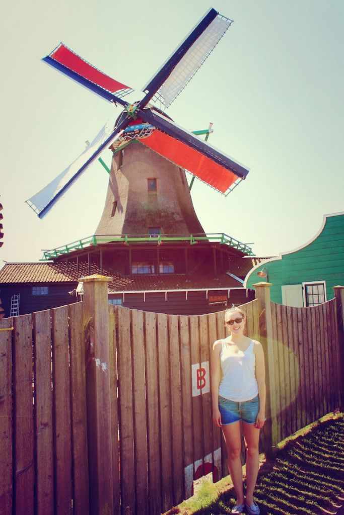 Vintage Windmill Holland