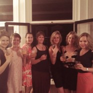 Girl's night at Cecile's.