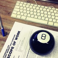 The week I referred to a crazy 8-ball any time I had to make a decision.