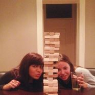 Jenga chicks.