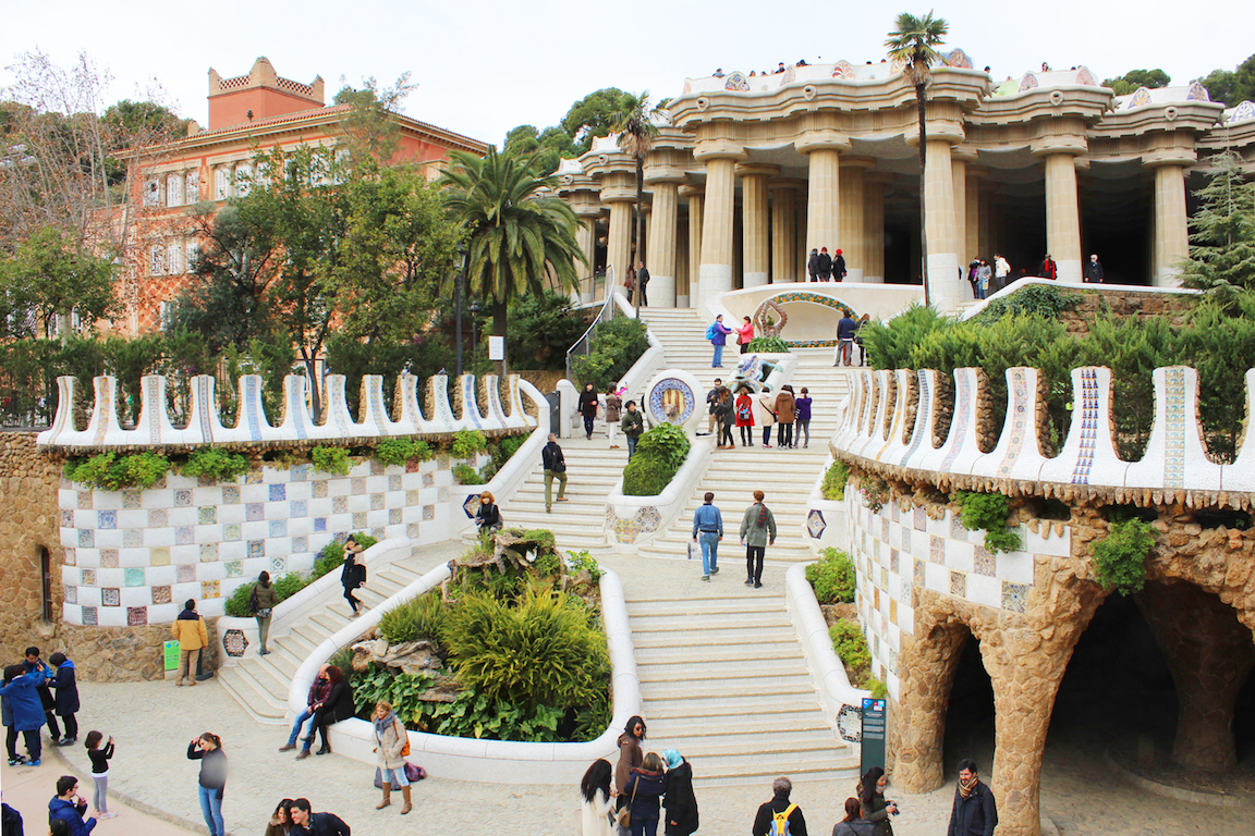 Park Güell, Barcelona  Amsterdam and Beyond