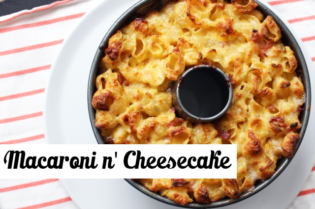Macaroni and Cheesecake