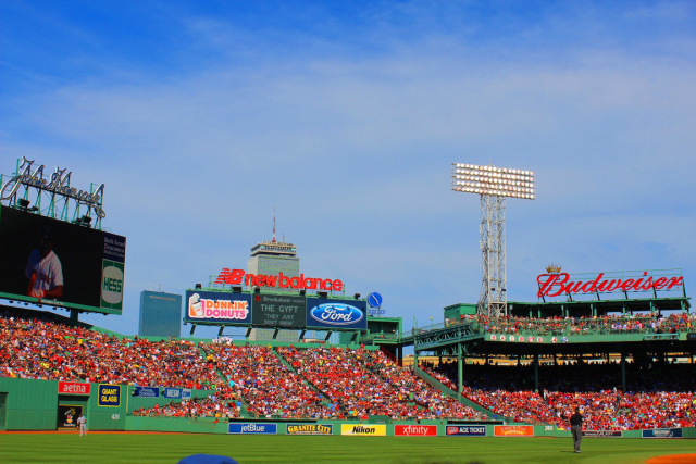Watching the Red Sox beat the Yankees ;)