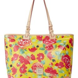 yellow-dooney-bourke-dooney-bourke-pebble-floral-leisure-shopper