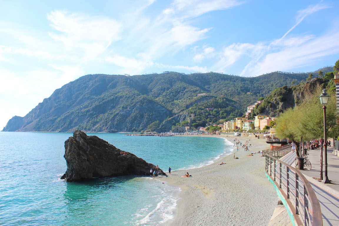 Hiking to Monterosso al Mare, Italy