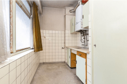 The old kitchen.